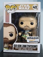 Funko Pop! - QUI-GON JINN (TATOOINE) 422 - Star Wars - Amazon Exclusive [1]