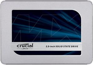Crucial 1To CT1000MX500SSD1 SSD interne MX500-jusqu'à 560 Mo/s (3D NAND, SATA, 2