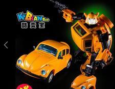"KBB Beetle MP21 Bumblebee Deformed Toy 7"" Metal Diecast Action Figure in stock"