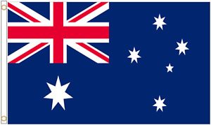 Large Australia Country Australian National Flag Football World Flags 5ft x 3ft