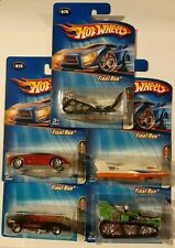 Hot Wheels 2005 Final Run Series Complete Set of 5 M.O.C.