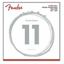 Fender 250 M Electric Guitar Strings Medium Gauge 0.011 - 0.049