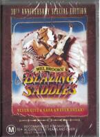 BLAZING SADDLES - MEL BROOKS - REGION 4 NEW & SEALED DVD- FREE LOCAL POST