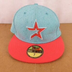 Turquoise New Era 59Fifty NBA Genuine Merchandise Baseball Cap Size 7