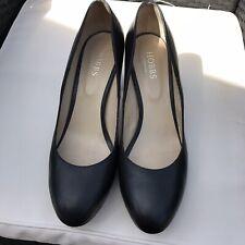 Zapato clásico de plataforma de Cuero Negro Hobbs Talla 42