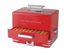 Nostalgia Hot Dog Steamer Hot Dog Machine Roller Cooker Hot Dog Bun Warmer Grill