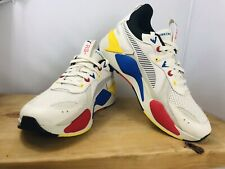 🔥NEW PUMA RS-X COLOR THEORY 370920 01 Whisper White Sneakers Men's Size 11
