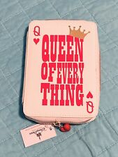 """Disney Parks Red Queen """"Queen Of Everything� Wallet-Nwt"""