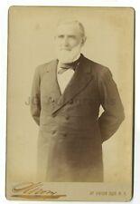 19th Century Gentlemen, Sarony - Cabinet Card Photograph - New York