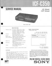 Sony Original Service Manual  für ICF-C350