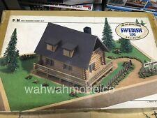 Vintage IMAI swedish log house  wooden kit