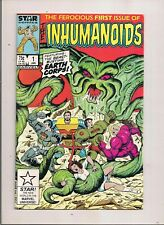THE INHUMANOIDS #1 MARVEL STAR COMICS 1987