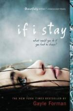 If I Stay by Gayle Forman (2010, Paperback)-New-Free Shipping-