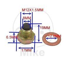 Magnetic Sump Plug, Oil Drain Plug M12  x 1.50- fits many KTM bikes