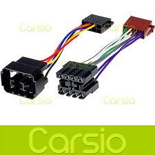 Saab 9000 79-93 ISO Lead Wiring Harness Connector Radio Stereo Adaptor PC2-22-4