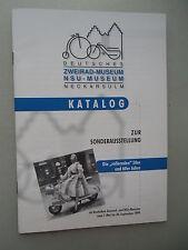 Deutsches Zweirad-Museum NSU-Museum Neckarsulm 1999 NSU