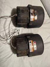 Set Of 2 Federal Signal Rumbler Siren Speakers Series Part No 82831059