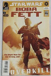 STAR WARS BOBA FETT OVERKILL #1 NM- Adam Hughes Cvr (Dark Horse 2006)