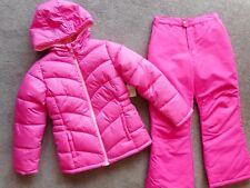 Snowsuits Ski Pants Puffer Jacket Snow pants Coats Girls Outerwear 2 Pcs 10/12