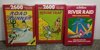 LOT OF THREE GAMES FOR ATARI 2600/7800 BRAND NEW VINTAGE RARE NOS SEALED #9