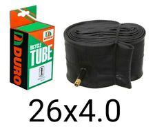 """1 [ONE] Fat Tire Bike  Inner TubeS 26"""" x 4.0 DURO BRAND Fatbike Schrader 26x4"""""""