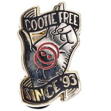THE COOTIE SHOT HARD ENAMEL LAPEL PIN FROM CLAY GRAHAM