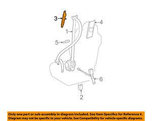 73200-06040 Toyota Adjuster assy, front shoulder belt anchor 7320006040, New Gen