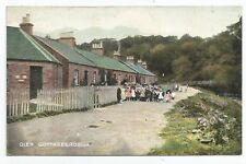 POSTCARDS-SCOTLAND-ROSLIN-PTD. Glen Cottages.