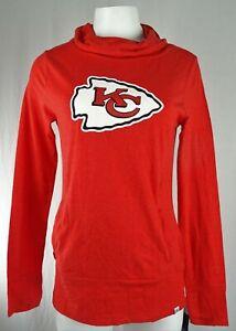 Kansas City Chiefs NFL Majestic Women's Slouch Neck T-Shirt