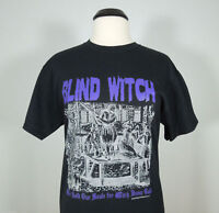 BLIND WITCH We Sold Our Souls For Witch Black T-Shirt sz M (R.I.P Records) (NEW)