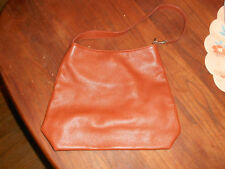 Capaccioli Made in Italy Brown Leather Handbag Purse Bag Tote