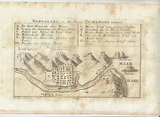 LL108-NANGASAKI-CARTA GEOGRAFICA 1726
