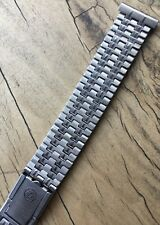 Swiss NSA watch band ladies vintage ends 12 13 or 14mm 1960s/70s steel 17 sold