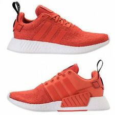 Adidas Men's  NMD R2 BY9915 Harvest Orange White Athletics Sneakers SZ 9.5 W/BOX