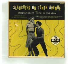 Slaughter on Tenth Avenue Gene Kelly MGM 45 rpm Record X1026 7inch