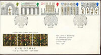 GB FDC 1989 Christmas, Ely H/S #C25818