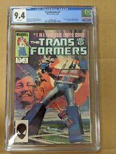 THE TRANSFORMERS #1 Marvel Comics 1984 CGC 9.4