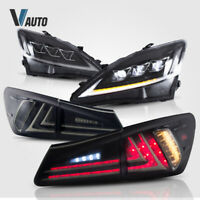 Smoked Taillight All LED Headlight For Lexus IS250 IS350 IS F 2006-2012 Assembly