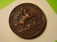 SOUTH AFRICA MEDAL CAPE TOWN PERFECT ATTENDANCE 31mm c.1910 #8586