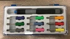 Mini Screwdriver Set. 10 Mini Screwdrivers 1 Handle 1 Plastic Box