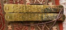 Napoleonic -  French brass chin scales