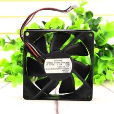 NMB 8025 3110RL-05W-B69 F02 fan DC24V 0.22A 3pin 80*80*25mm