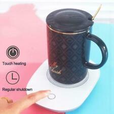 Smart Electric Cup Mug Milk/Coffee/Drink Warmer Heater Tray Smart USB 55℃ N5F4
