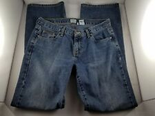 "Womens CALVIN KLEIN JEANS Blue Jeans/Pants 32"" Inseam 100% Cotton 5 Pockets Sz 7"
