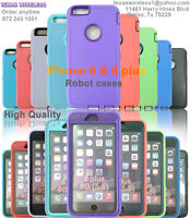 Hybrid Shockproof Hard Robot Case Heavy Duty Defender Cover For iPhone 6/6S/6S P