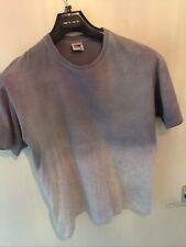 Grey Fade Dye Fruit Of Tge Loom T Shirt Size Medium
