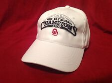 d8362eae807 OKLAHOMA SOONERS OU 2002 Men s Big 12 Championship Basketball Hat Brand ...