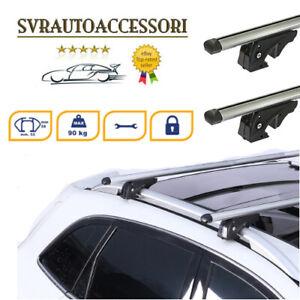 Barre Portatutto Portapacchi NISSAN QASHQAI /+2 2006>2018 135 cm Alluminio