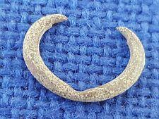 Very rare Viking bronze earring found in England. Please read description. L84x