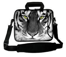 "LUXBURG 17"" Inches Design Laptop Sleeve With Shoulder Strap & handle #EJ"